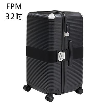 FPM MILANO BANK ZIP Eclipse Black 系列 32吋運動行李箱 日蝕黑 (平輸品)