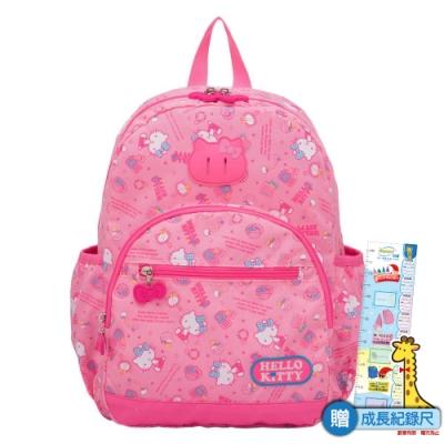【HELLO KITTY】休閒潮流Ⅱ-後背包(大)-粉紅 KT88B02PK