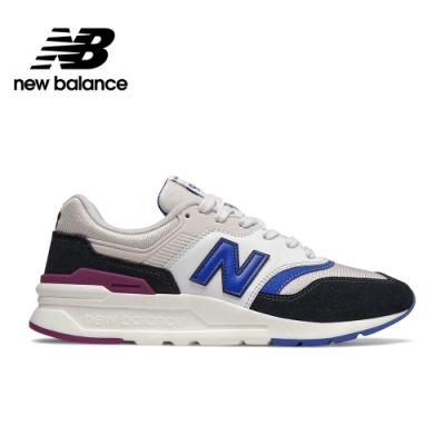 【New Balance】復古運動鞋_中性_黑白藍配色_CM997HXV-D楦