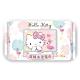 Sanrio 三麗鷗 Hello Kitty 凱蒂貓 超純水加蓋濕紙巾 100抽X8包/組 product thumbnail 1