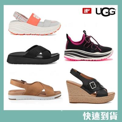 [時時樂限定]UGG 夏日舒適休閒 涼拖鞋