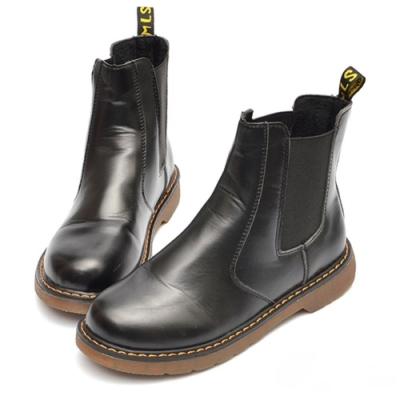 山打努SANDARU-短靴 中性簡約車線切爾西靴