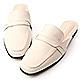 D+AF 幾何變化.特殊剪裁平底穆勒鞋*米 product thumbnail 1