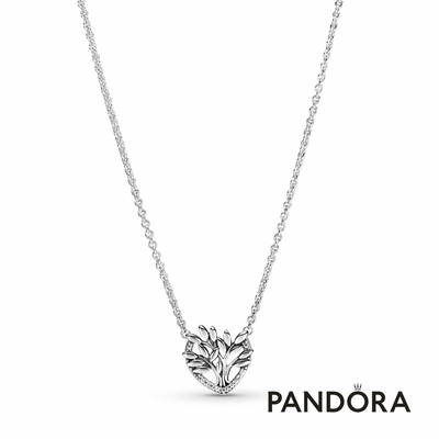 【Pandora官方直營】心形家庭樹短鏈