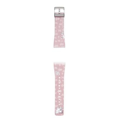 Smart Canvas 聯名款錶帶-Moomin粉紅森林
