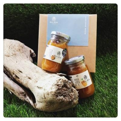 picky digger 嚴選格外農品 雙入果茶醬禮盒(青皮椪柑+金鑽鳳梨果醬組合)For 2 Jam Per Gift Box