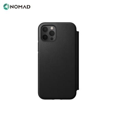美國NOMAD經典皮革側掀保護套-iPhone 12 Pro Max (6.7 )