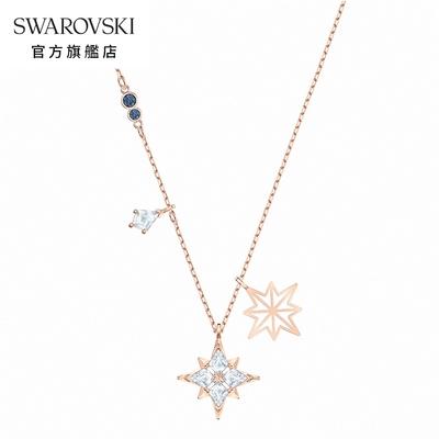 SWAROVSKI 施華洛世奇 Symbol 玫金色耀眼星辰項鏈