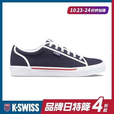 K-SWISS Port帆布運動鞋-男-藍