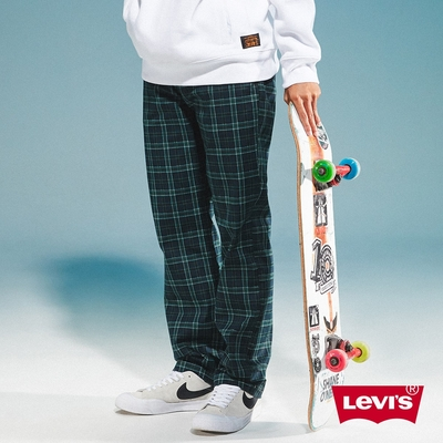 Levis 男款 英倫格紋休閒褲 滑板系列