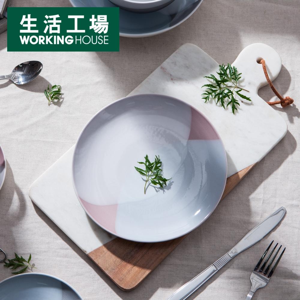 【週年慶↗全館8折起-生活工場】永恆恬靜餐盤22CM