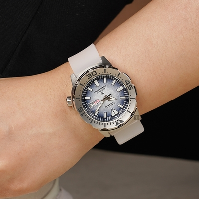SEIKO 精工 Prospex 愛海洋 企鵝漫步 200米潛水機械錶(SRPG57K1/4R36-11C0H)