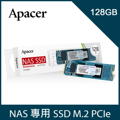 Apacer PP3480 M.2 PCle 128GB SSD NAS固態硬碟