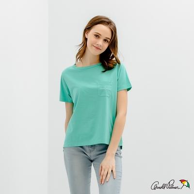 Arnold Palmer -女裝-普普風印花 LOGO TEE-綠色