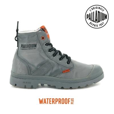 PALLADIUM PAMPA LITE+ VAPOR WP+輕量防水靴-中性-灰