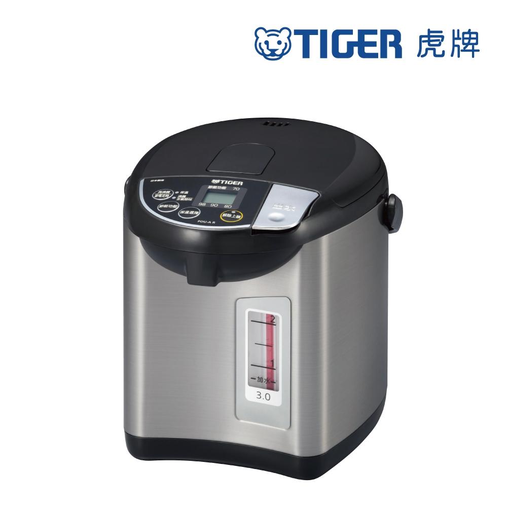 (日本製) TIGER虎牌3.0L超大按鈕電熱水瓶(PDU-A30R)