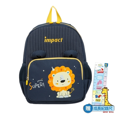 【IMPACT】獅子-後背包(中)-深藍色 IMQ0001NY (IMKS)