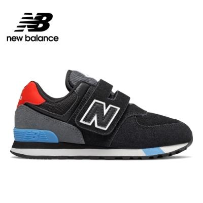 New Balance YV574JHO 童鞋 黑