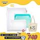 [買1大送2小 再送購物袋]樂扣樂扣 N次矽膠密封袋1.96L(2色) product thumbnail 2
