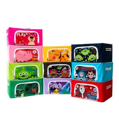 [收納皇后]玩具總動員牛津布摺疊收納箱22L 多款可選 (迪士尼正版授權)