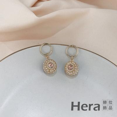 Hera 赫拉 個性氣質鑲鑽耳釘耳環#H100331A