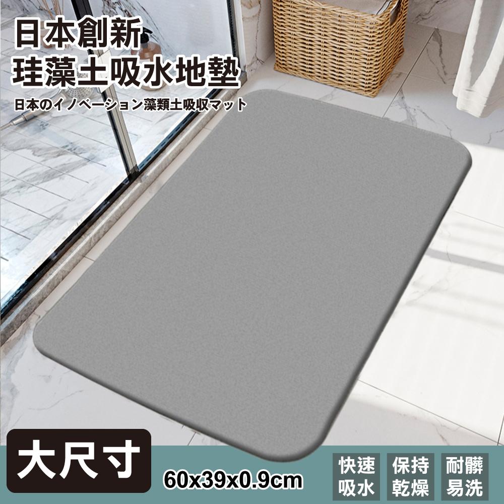 (買一送一)日本創新珪藻土吸水地墊 60*39*0.9cm (大尺寸)