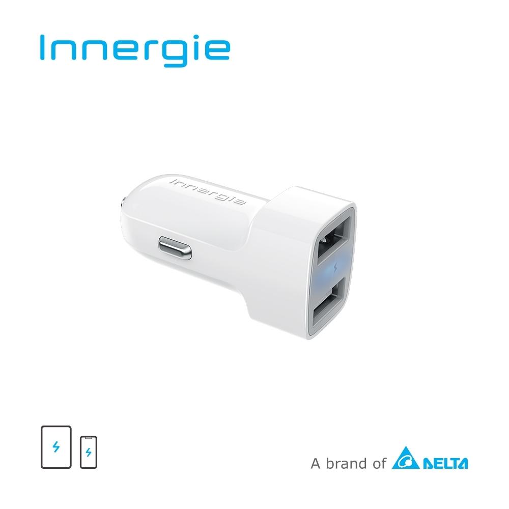 Innergie 24D 24瓦雙孔 USB 極速車充