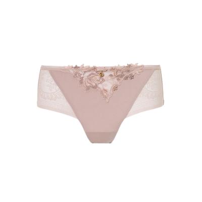 黛安芬-Premium玫瑰寄情系列 超細纖維中腰平口內褲 M-EL 氣質裸