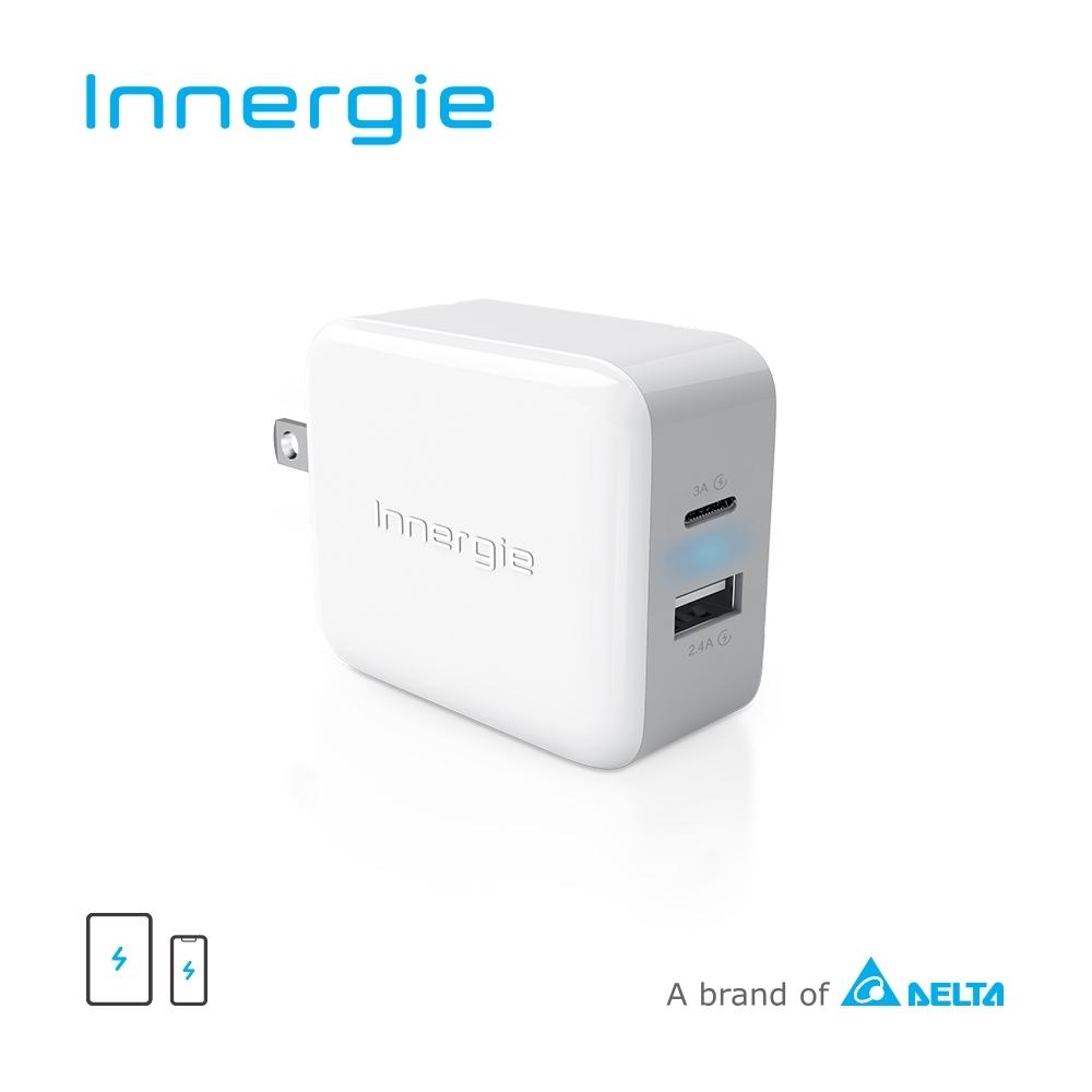 Innergie 27M 27瓦雙孔USB-C極速充電器