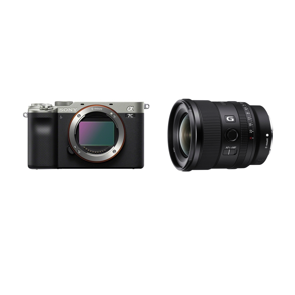 SONY A7C 廣角風景組FE 20mm F1.8 G (ILCE-7C+SEL20F18G) (公司貨)