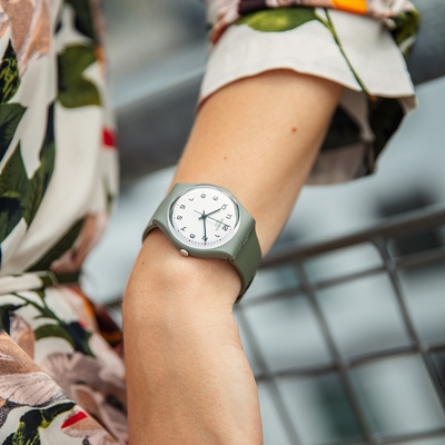 Swatch Gent 原創系列手錶 ISIKHATHI時光1983-南非祖魯-34mm