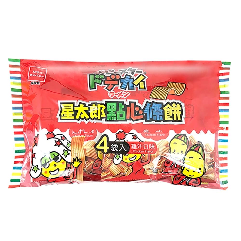 OYATSU優雅食 星太郎點心條餅-中雞汁分享包(37gx4入)