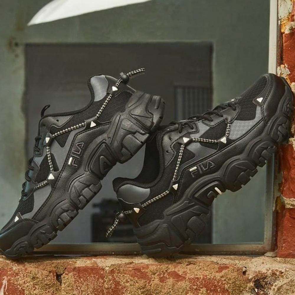 FILA FLUID 中性運動鞋-黑 4-C119V-001