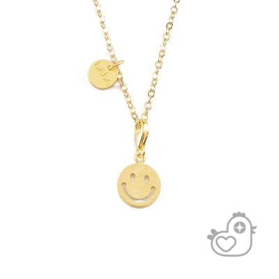 【彩糖鑽工坊】彩糖貝貝 微笑項鍊 親子 閨蜜 彌月彩糖貝貝系列