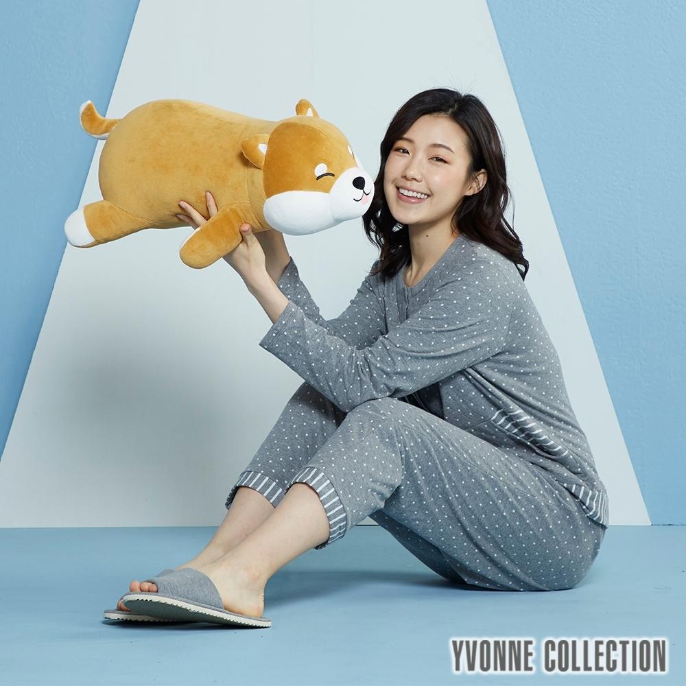 [預購11/5出貨] Yvonne Collection 趴趴柴犬造型抱枕(56公分)-赤柴