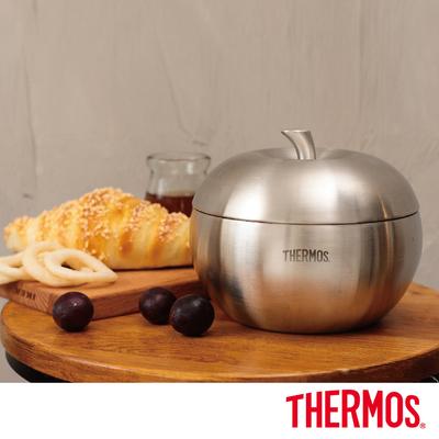 [買一送一] 膳魔師 雙層不鏽鋼蘋果餐碗900ML