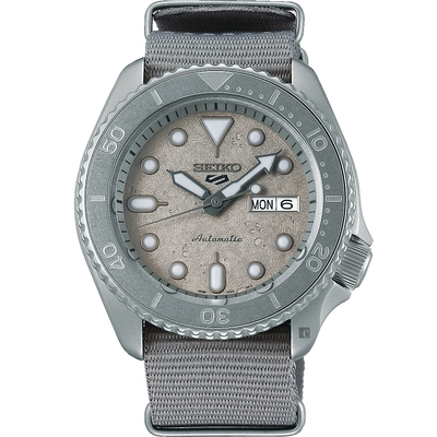 SEIKO 精工 5 Sports Cement 系列機械錶(SRPG61K1/4R36-11R0N)-42.5mm