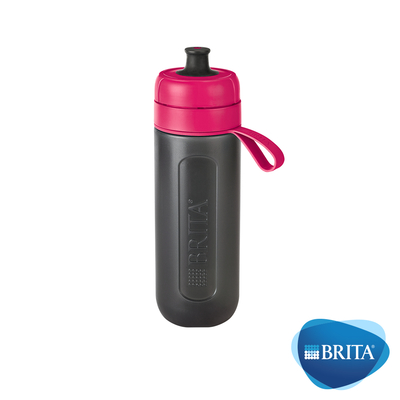 [下殺67折] 德國BRITA Fill&Go Active運動濾水瓶600ml(含濾片*1)