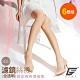 GIAT台灣製全透明30D柔肌絲褲襪(6雙組) product thumbnail 1