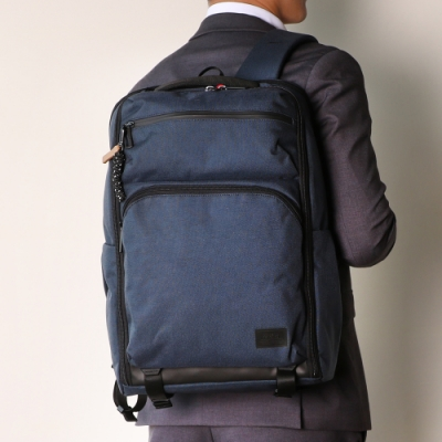 Samsonite RED ONSE 尼龍防盜扣環兩用筆電後背包L 15.6吋(海軍藍)