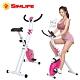 【SimLife】居家簡易收納肌肉訓練健身車(浪漫粉) product thumbnail 2