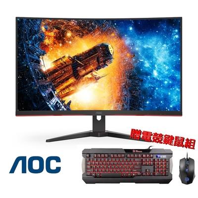 AOC CQ32G2E 32型 2K 144Hz曲面電競螢幕 HDR