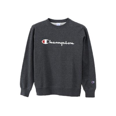 Champion Basic Logo 經典款大學Tee 深灰