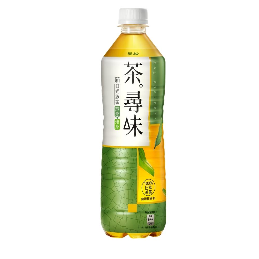 黑松 茶尋味新日式綠茶(590mlx24入)