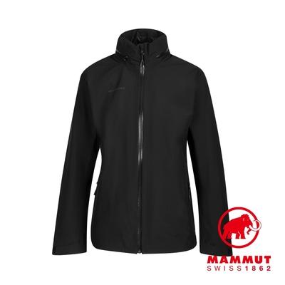 【Mammut 長毛象】Ayako Tour HS Hooded Jacket Women GTX 防水連帽外套 黑色 女款 #1010-28580