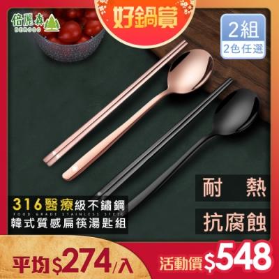 倍麗森正316不鏽鋼鈦合金實心長柄不鏽鋼系列