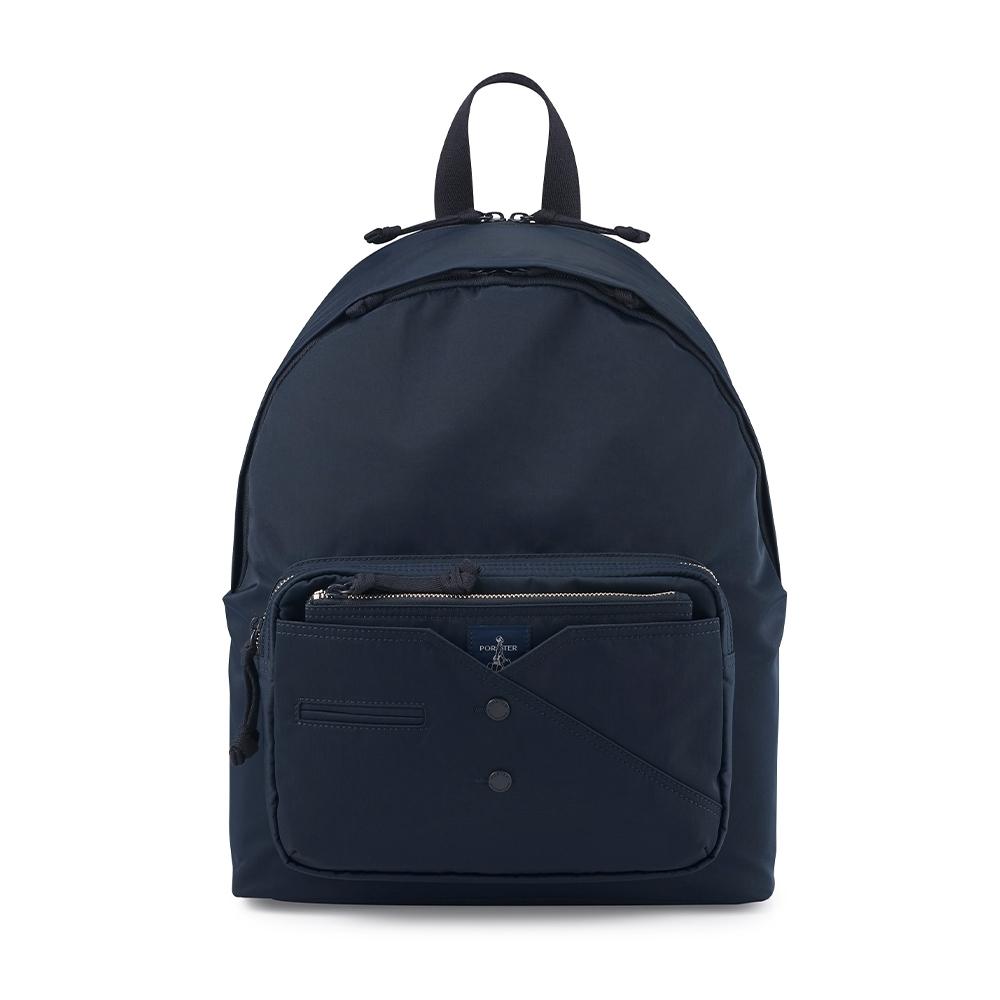 PORTER - 紳士品味CUFF(N)型格機能後背包 - 藍