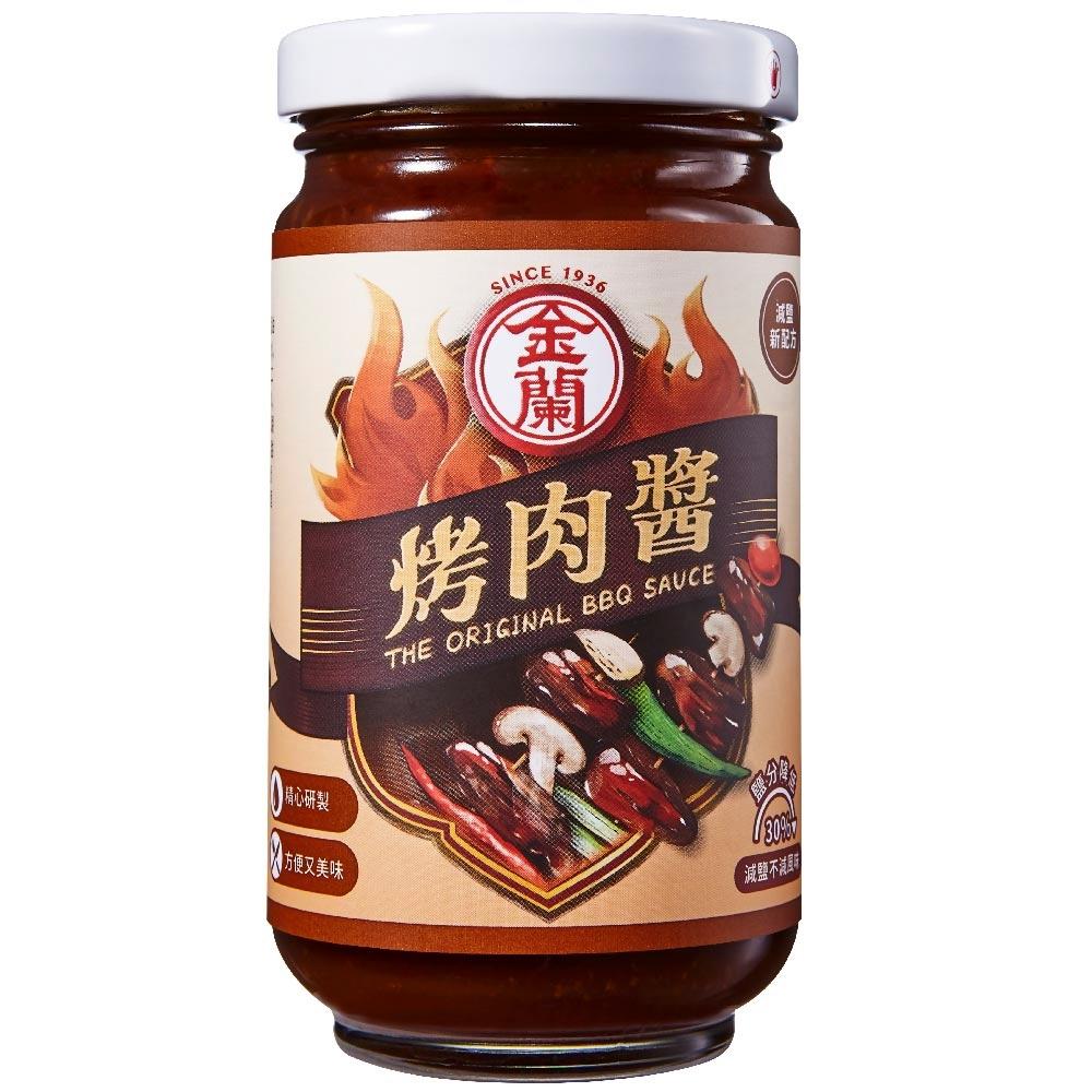 金蘭 烤肉醬-膏狀240g