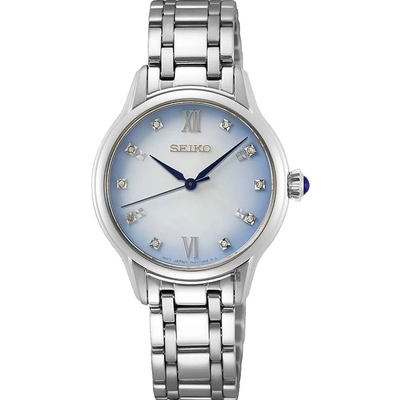 SEIKO精工 CS 140週年限量 晶鑽石英女錶-29.5mm (SRZ539P1/7N01-0KV0S)