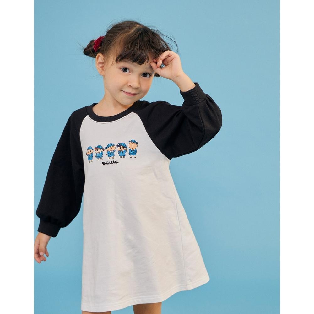 CACO-小新與朋友洋裝-親子款-童【C3SC011】